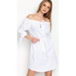 Sukienki: Biała Sukienka Addictive