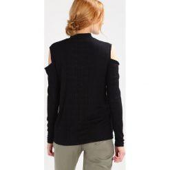 Bluzki asymetryczne: Karen by Simonsen Bluzka z długim rękawem black