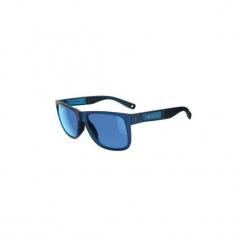 Okulary przeciwsłoneczne turystyczne MH 540 kat. 3. Niebieskie okulary przeciwsłoneczne damskie aviatory QUECHUA, z gumy. Za 59,99 zł.