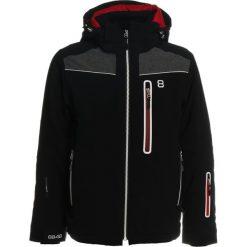 8848 Altitude ZAMSAR  Kurtka hardshell black. Czarne kurtki chłopięce 8848 Altitude, z hardshellu, sportowe. W wyprzedaży za 607,20 zł.