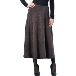 Długie spódnice: Spódnica w kolorze brązowym