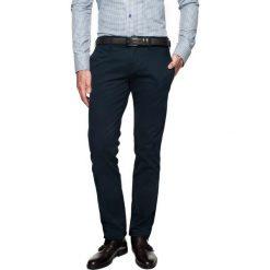 T-shirty męskie: spodnie foners 214 granatowy