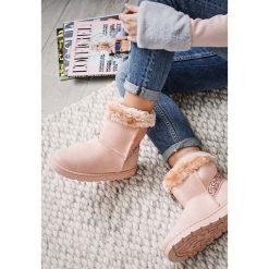 Buty zimowe damskie: Różowe Śniegowce Whole World