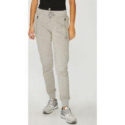 Adidas Performance - Spodnie. Szare bryczesy damskie adidas Performance, l, z bawełny. W wyprzedaży za 219,90 zł.