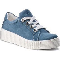 Półbuty LASOCKI - WI23-PIETRA-14 Jeansowy. Niebieskie półbuty damskie na koturnie Lasocki, z jeansu. Za 149,99 zł.