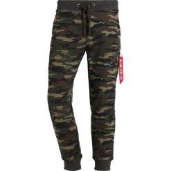 Spodnie dresowe męskie: Alpha Industries X FIT PANT Spodnie treningowe woodl. camo 65