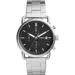 Zegarek FOSSIL - The Commuter Chrono FS5399 Silver/Silver. Różowe zegarki męskie marki Fossil, szklane. Za 669,00 zł.