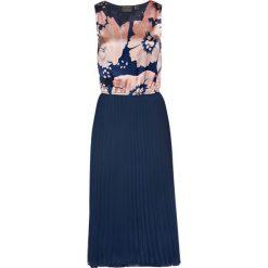 Sukienki: Sukienka plisowana bonprix ciemnoniebieski