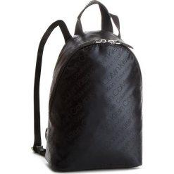 Plecak CALVIN KLEIN - City To Beach Backpack K60K604298 910. Czarne plecaki damskie Calvin Klein, z materiału, klasyczne. Za 549,00 zł.