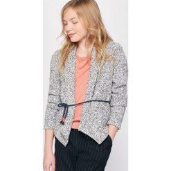 Kardigan w stylu kimono 10-16 lat. Niebieskie swetry chłopięce La Redoute Collections, z bawełny. Za 75,60 zł.