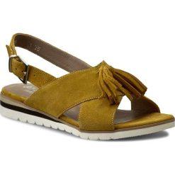 Rzymianki damskie: Sandały ANN MEX – 8007 10W Żółty