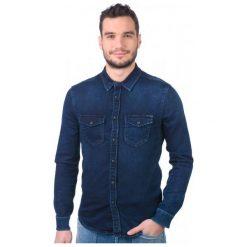 Pepe Jeans Koszula Męska Jepson L Niebieski. Niebieskie koszule męskie jeansowe marki Pepe Jeans, l. W wyprzedaży za 266,00 zł.