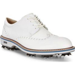 Golfy męskie: ECCO Men's Golf Lux – Biały – 39