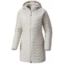Columbia Płaszcz Damski Powder Lite Mid Jacket Light Cloud S. Szare płaszcze damskie marki Columbia, z dzianiny. Za 599,00 zł.