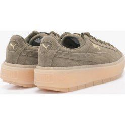 Puma - Buty Platform Trace Wn,s. Czerwone buty sportowe damskie marki Puma, xl, z materiału. W wyprzedaży za 399,90 zł.