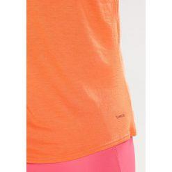 Adidas Performance LOGO Koszulka sportowa traora. Brązowe topy sportowe damskie adidas Performance, xxs, z elastanu. Za 129,00 zł.