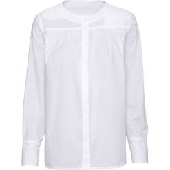 Bluzka bonprix biały. Białe bluzki z odkrytymi ramionami marki Topshop Tall, z poliesteru. Za 59,99 zł.