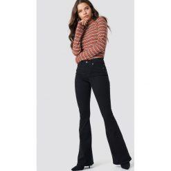 Spodnie damskie: Dr Denim Rozszerzane jeansy Macy - Black