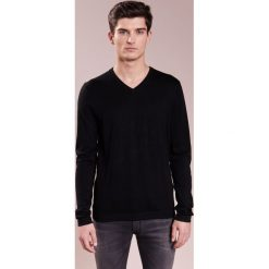 JOOP! LEON Sweter black. Czarne kardigany męskie marki JOOP!, m, z bawełny. W wyprzedaży za 419,30 zł.