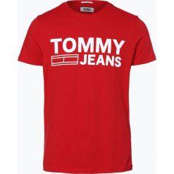 T-shirty męskie z nadrukiem: Tommy Jeans – T-shirt męski, czerwony