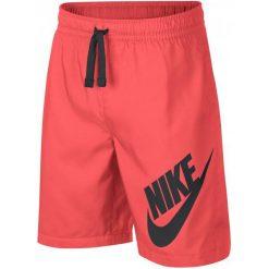 Nike Szorty Chłopięce B Nsw Short W Hot Punch Black Xl. Czarne spodenki chłopięce Nike, z materiału, sportowe. Za 105,00 zł.