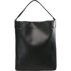 New Look EFFIE EXTREME HOBO Torba na zakupy black. Czarne shopper bag damskie marki New Look, z materiału, na obcasie. Za 129,00 zł.
