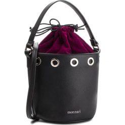 Torebka MONNARI - BAG6030-020 Black With Violet. Czarne torebki worki Monnari, w geometryczne wzory, ze skóry ekologicznej. W wyprzedaży za 169,00 zł.