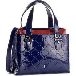 Torebka OCHNIK - TORES-0027 Granatowy. Niebieskie torebki klasyczne damskie Ochnik, z lakierowanej skóry, lakierowane. W wyprzedaży za 559,00 zł.