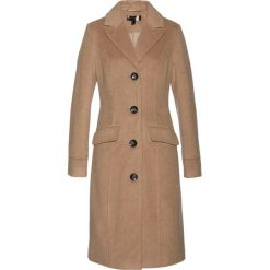 Płaszcze damskie: Płaszcz bonprix wielbłądzia wełna
