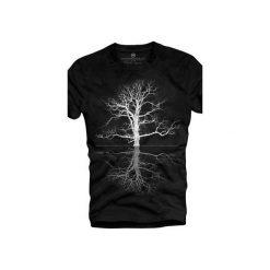 T-shirt UNDERWORLD Organic Cotton Drzewo. Szare t-shirty męskie z nadrukiem marki Underworld, m, z bawełny. Za 69,99 zł.