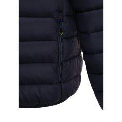 CMP BOY FIX HOOD  Kurtka zimowa black blue. Niebieskie kurtki dziewczęce sportowe marki CMP, na zimę, z materiału. W wyprzedaży za 139,30 zł.