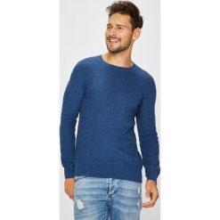 Medicine - Sweter Arty Dandy. Niebieskie swetry klasyczne męskie marki MEDICINE, l, z bawełny, z okrągłym kołnierzem. W wyprzedaży za 59,90 zł.