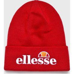 Ellesse - Czapka. Czerwone czapki zimowe męskie marki Ellesse, na zimę, z dzianiny. Za 99,90 zł.