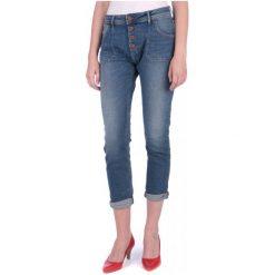 Mustang Jeansy Damskie Tapered 29/32 Niebieski. Niebieskie jeansy damskie marki Mustang, z aplikacjami, z bawełny. W wyprzedaży za 225,00 zł.