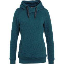Roxy DIPSY  Bluza z kapturem ink blue. Zielone bluzy damskie Roxy, s, z materiału, z kapturem. W wyprzedaży za 377,10 zł.