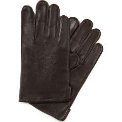 Rękawiczki męskie 39-6-328-B. Brązowe rękawiczki męskie marki Wittchen. Za 99,00 zł.