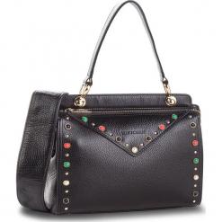 Torebka WITTCHEN - 86-4E-351-1 Czarny. Czarne torebki klasyczne damskie Wittchen, ze skóry. W wyprzedaży za 449,00 zł.