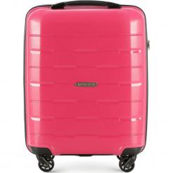 Walizka kabinowa 56-3T-721-30. Czerwone walizki marki Wittchen, z gumy, małe. Za 199,00 zł.