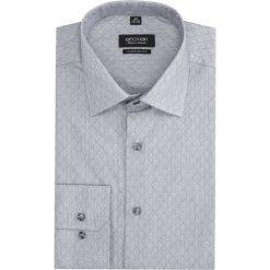 Koszula versone 2751 długi rękaw custom fit szary. Szare koszule męskie marki Recman, m, z długim rękawem. Za 149,00 zł.