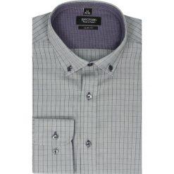 Koszula bexley 2479 długi rękaw slim fit szary. Szare koszule męskie jeansowe Recman, m, button down, z długim rękawem. Za 89,99 zł.