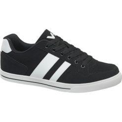 Sportowe buty męskie Vty czarno-białe. Czarne buty skate męskie marki Nike, z materiału, nike tanjun. Za 89,90 zł.
