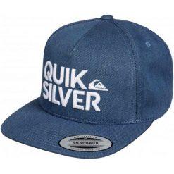 Quiksilver Czapka Z Daszkiem Overunder M Hats Dark Denim. Szare czapki męskie Quiksilver, na lato, z denimu, eleganckie. W wyprzedaży za 85,00 zł.