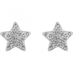 Kolczyki z kryształkami Swarovski. Szare kolczyki damskie Biżuteria z kryształkami Swarovski, z kryształem. W wyprzedaży za 45,95 zł.