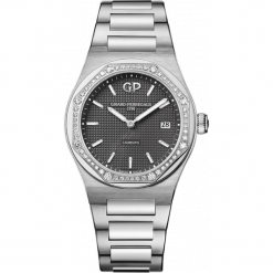 ZEGAREK GIRARD PERREGAUX LAUREATO 34 MM 80189D11A231-11A. Szare zegarki damskie GIRARD-PERREGAUX, szklane. Za 43890,00 zł.