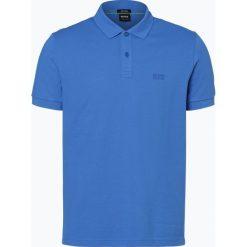 BOSS Athleisurewear - Męska koszulka polo – Piro, niebieski. Niebieskie koszulki polo BOSS Athleisurewear, l, z bawełny. Za 349,95 zł.