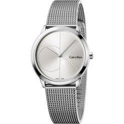 ZEGAREK CALVIN KLEIN MINIMAL MIDSIZE K3M2212Z. Szare zegarki męskie Calvin Klein, szklane. Za 849,00 zł.