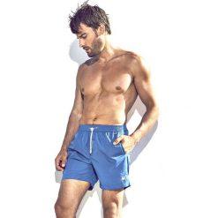 Męskie szorty kąpielowe DAVID 52 Basic Caicco 041B. Niebieskie kąpielówki męskie marki Astratex, z bawełny. Za 105,00 zł.