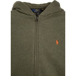 Polo Ralph Lauren Bluza rozpinana olive heather. Brązowe bluzy chłopięce rozpinane marki Polo Ralph Lauren, z bawełny. W wyprzedaży za 207,35 zł.