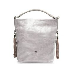 Shopper bag damskie: TORBA SHOPPER BOLSA PINK GOLD ADALYN