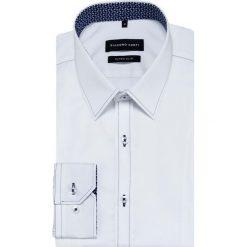 Koszula MICHELE KDBE000436. Białe koszule męskie na spinki marki INESIS, m, z bawełny, z długim rękawem. Za 259,00 zł.